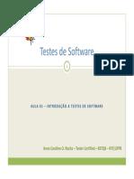 Aula01-Curso de Testes de Software - NTI