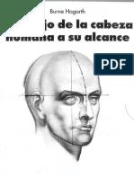El dibujo de la cabeza humana a su alcance