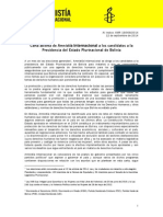 Amnistia Internacional Carta abierta Bolivia Candidatos Presidenciales.pdf