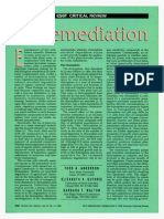 Bioremediation in the Rhizosphere