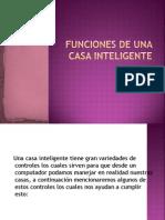 Funciones de Una Casa Inteligente (1)
