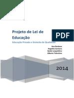 Política Educacional e Organização Da Educação Brsileira - Projeto de Lei