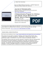 A Comprehensive Program for Children with Gender Variant Behaviors and Gender Identity Disorders