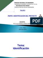 Identificación (Taller II) - Arias