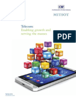Telecom Enabling Growth and Serving the Masses