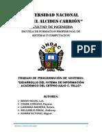 Cetpro Informe Final