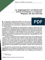 Anker_1997_La Segregación Profesional Entre Hombres y Mujeres
