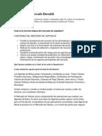 Concepto de Mercado Bursátil