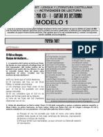 Cantar de Mio Cid - Destierro Modelo 1
