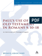 (Library of New Testament Studies) Brian J. Abasciano-Paul's Use of the Old Testament in Romans 9.10-18_ an Intertextual and Theological Exegesis. 3