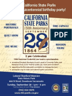 State Parks Celebrate 150 Years