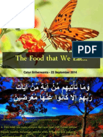 the food that we eat