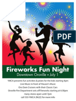 Fireworks Family Fun Night