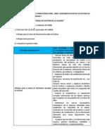 Actividad Programa de Formacióniso 9001