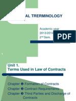 Legal Terminology Lectia 2 27 Martie 2014