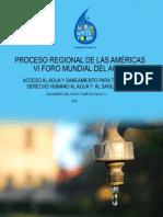 Derecho Humano Al Agua en Las Americas FORO MUNDIAL MARSELLA