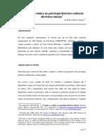 Achilles Delari O Sujeito e a Clínica Na Psicologia Histórico-cultural