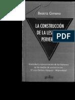 Beatriz Gimeno - La Construccion de La Lesbiana Perversa