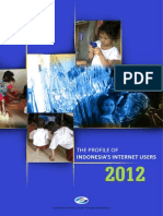 Profile of Indonesian Internet Users 2012 (ENGLISH)