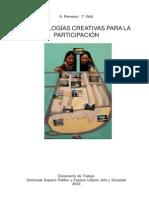 Metodologías Creativas de La Participación