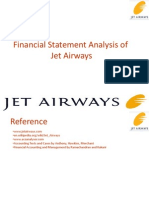 Financial Statement Analysis of Jet Airways