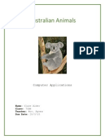 alder clare animals