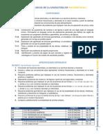 Dosificación Bimestral de La Asignatura de Matemáticas i