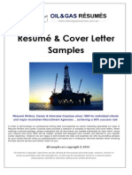 OIL & GaAS SAMPLES - Resumes & Cover Letters