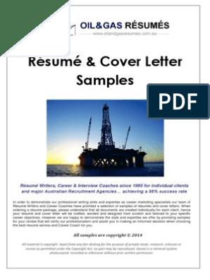 OIL & GaAS SAMPLES - Resumes & Cover Letters | Résumé ...