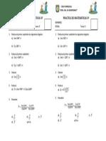 Examen de Matemática 4 - t9