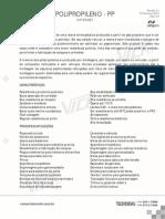 Datasheet Polipropileno Pp Nit