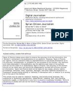 Syrian Citizen Journalism