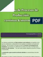 Produccion Conitnua e Intermitente