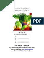 Lembar Pengamatan Pbm-sayuran