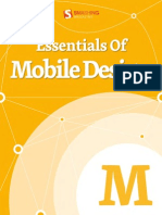 Essentials of Mobile Design