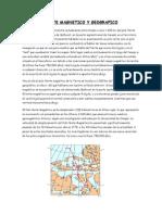Norte Magnetico y Geografico
