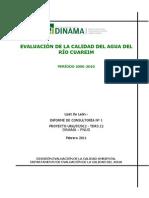 Calidad de Agua Del Ryao Cuareim-2006-2010-Website
