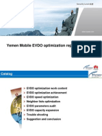 Yemen Mobile EVDO Optimization Report-8-28