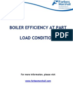 Boiler Efficiency at Part Load Conditions