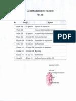 Kalender Akademik 2014 2015 Semester 1