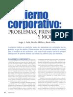 Gobierno Corporativo Problemas, Principios y Modelos. Debates Iesa.asp