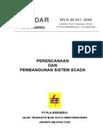 Spln s6.001 2008 Perencanaan Dan Pembangunan Sistem Scada