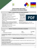 5-Sulfosalicylic Acid Dihydrate MSDS