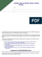 How to Test the GM MAF Sensor