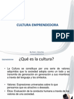Cultura Emprendedora