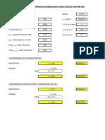 Tablas Cálculo de Forjados de Madera