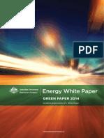 Australian Government Energy Green Paper September 2014