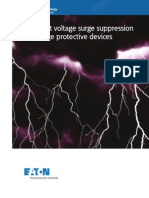Transient voltage surge suppression  and surge protective devices