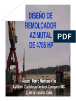 Diseño de Remolcador Azimutal de 4786 Hp Presentacion
