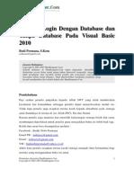 Aplikasi Login Dengan Database Dan Tanpa Database Pada Visual Basic 2010
